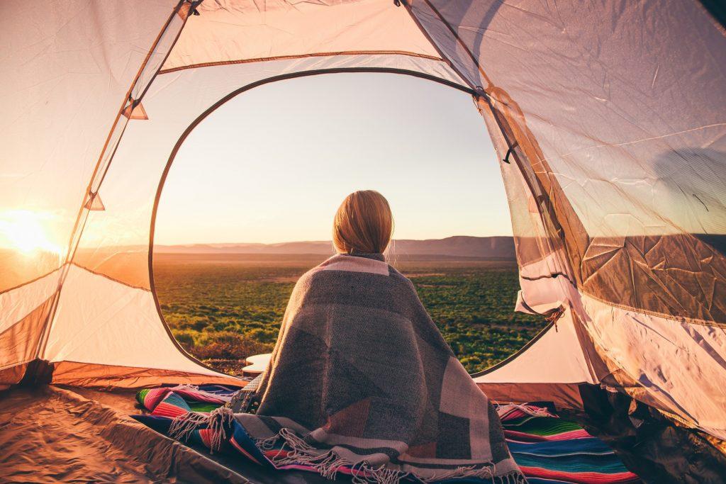 Réveil dans la tente
